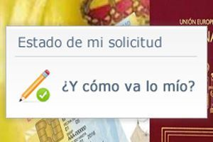 Consulta telemática de expedientes de nacionalidad española por residencia
