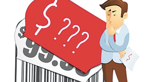 7 errores a la hora de fijar un precio, tarifa o presupuesto
