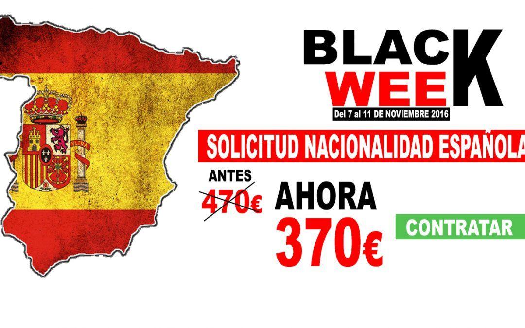 Super Descuento en tu  Solicitud Nacionalidad Española